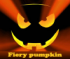 Fiery pumpkin. Find objects