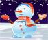 Lovely Snowman Dressup